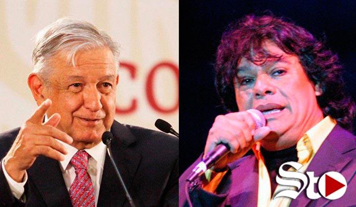 Juan Gabriel vive por sus canciones: López Obrador
