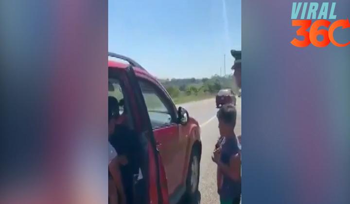 Familia de vacaciones olvida a niño en tienda