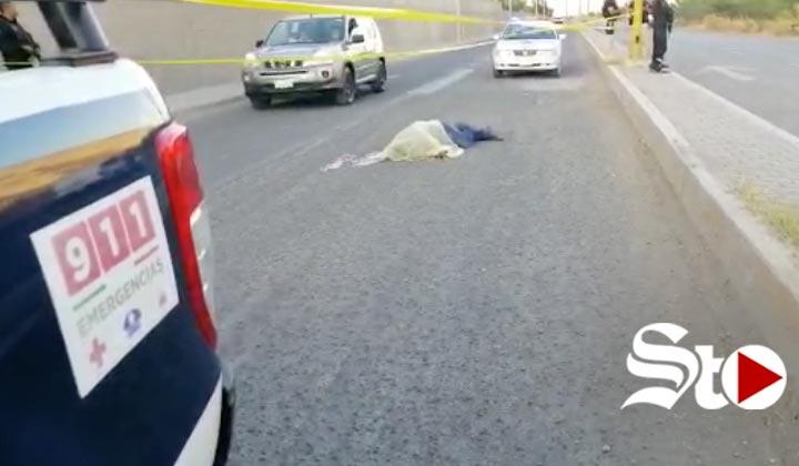 Motociclista muere en fatal accidente