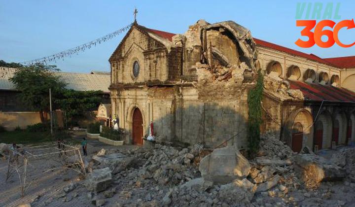 Ascienden a 16 los muertos en el terremoto de Filipinas