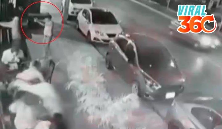 Difunden video de balacera en bar de Quintana Roo