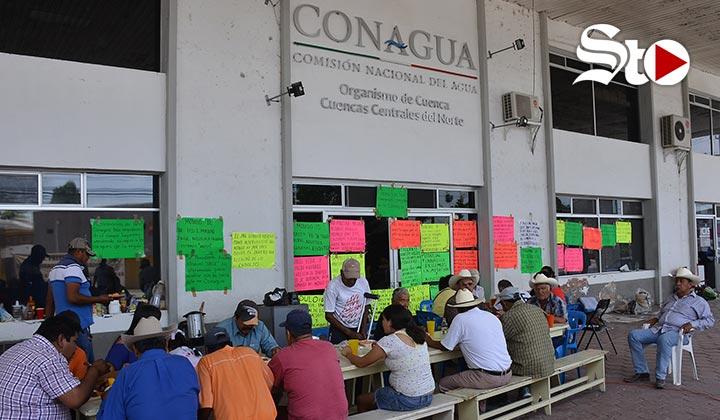 Denuncian ser víctimas de amenazas por protestas en Conagua