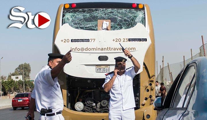 Explosión junto a autobús de turistas deja varios heridos