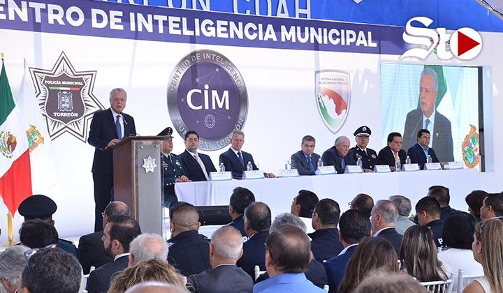 Inauguran Centro de Inteligencia Municipal de Torreón