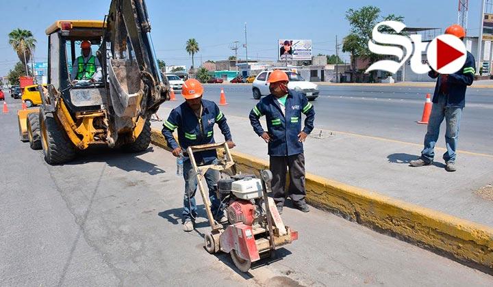 Inician obras de cárcamos pluviales en Valle Oriente y División