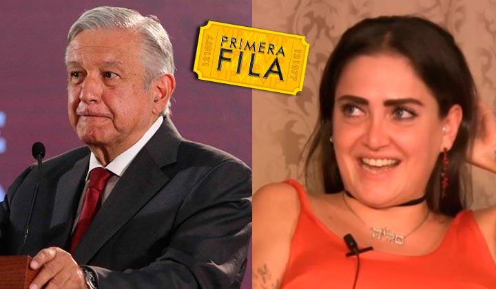 Celia Lora pide muerte para López Obrador