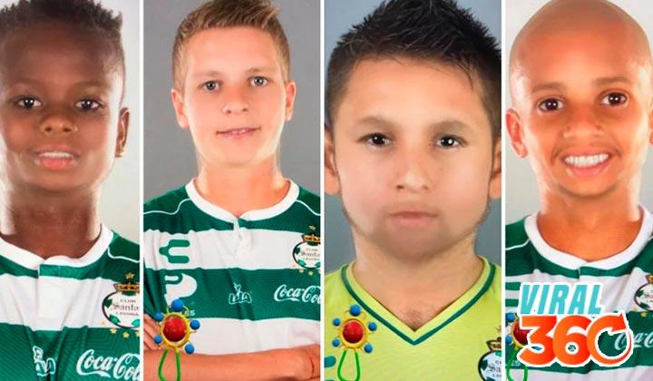 Santos convierte a sus jugadores en 'bebés'