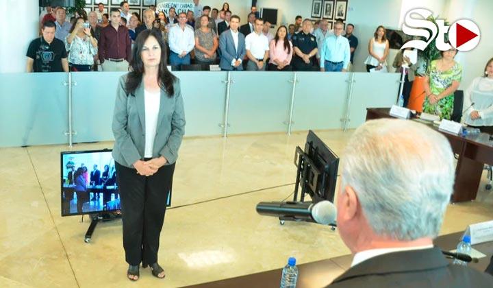 Toma protesta nueva tesorera Municipal de Torreón