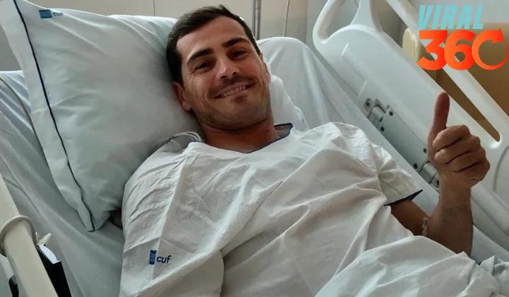 Iker Casillas está fuera de peligro tras infarto