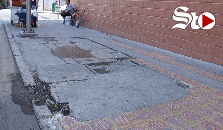 Arreglarán banquetas en el Centro Histórico de Torreón