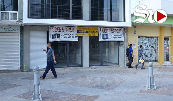 Rentas 'ahogan' Paseo Morelos