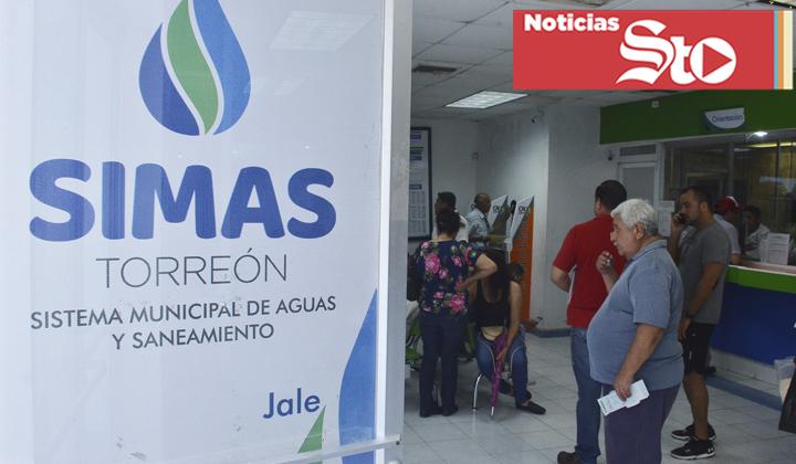 Simas suspenderá servicio a deudores