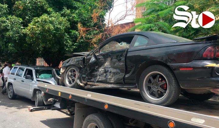 Accidente en el centro de Gómez Palacio deja un lesionado