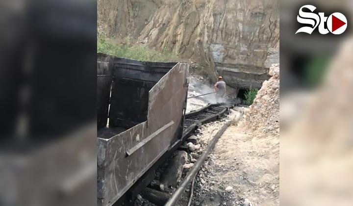 Hombre queda atrapado en derrumbe de mina en Múzquiz