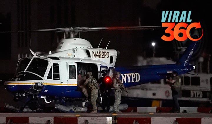 Video muestra los últimos minutos de 'El Chapo' en NY