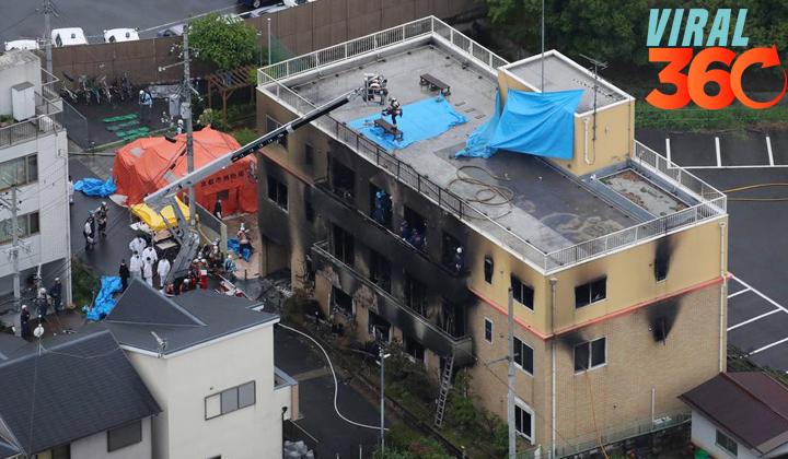 Suman 33 muertos por incendio provocado en Japón