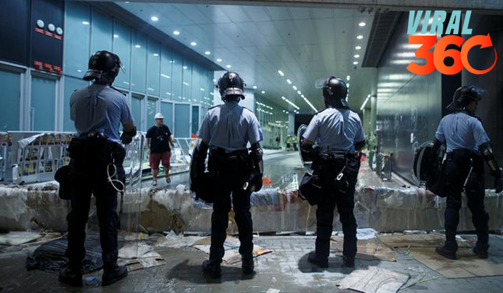 Al menos 15 detenidos por protestas en Hong Kong