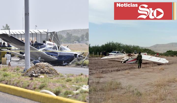 Dos accidentes aéreos en La Laguna