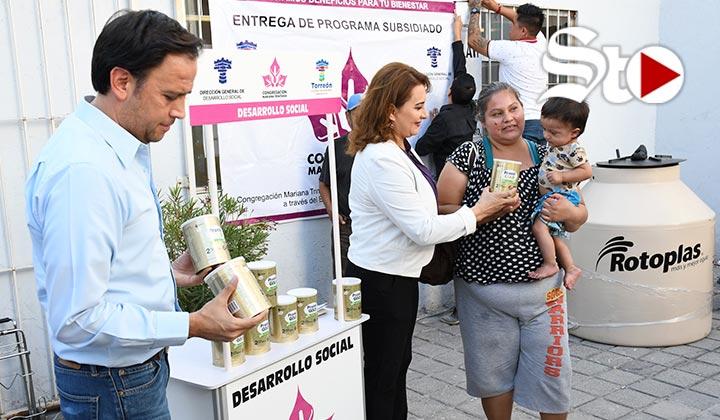 Presentan apoyos de Desarrollo Social en Torreón