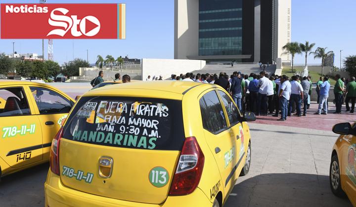 Taxistas vuelve a realizar protesta en contra de de 'Apps'