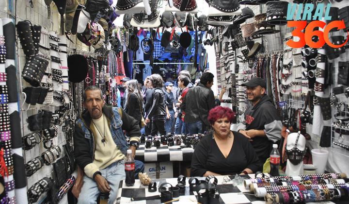 El mercadillo del Chopo: un oasis roquero en la CDMX