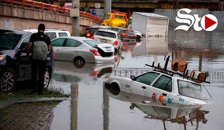 Lluvias dejan muertes e inundaciones en Monterrey
