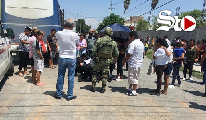 Choque entre autobuses en Gómez Palacio deja varios lesionados