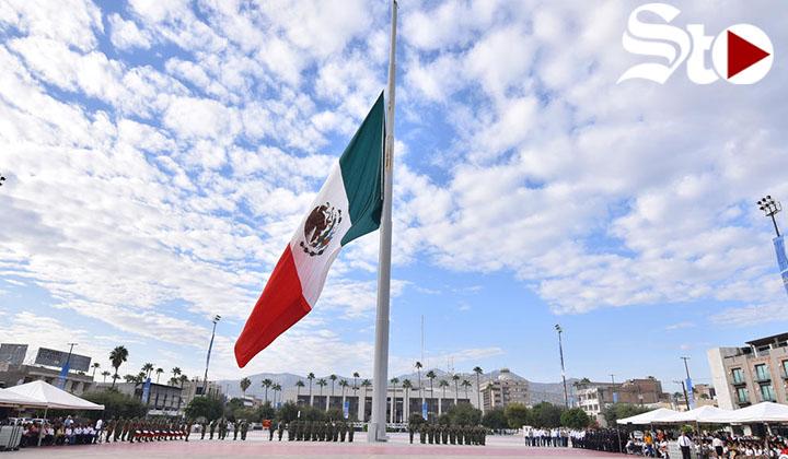 Conmemoran en Torreón gesta de los Niños Héroes