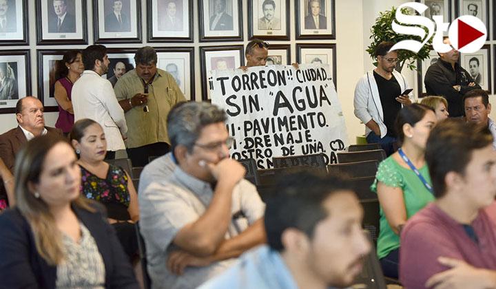 Estalla polémica por alza de tarifas de agua en Cabildo