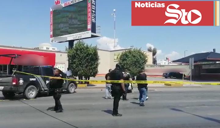 Persecución en Torreón deja un muerto y un detenido