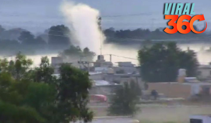 Evacuan a 500 personas por fuga de combustible
