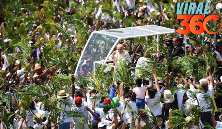 El papa invita a dar la bienvenida y acoger a los migrantes
