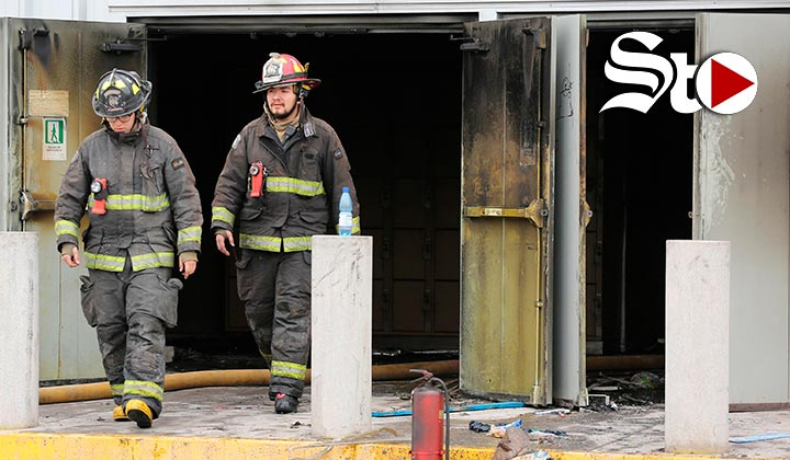 Tres muertos en el incendio de un supermercado en Chile