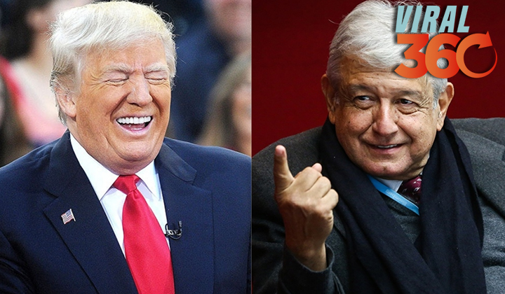 Trump expresa a López Obrador solidaridad por hechos en Culiacán