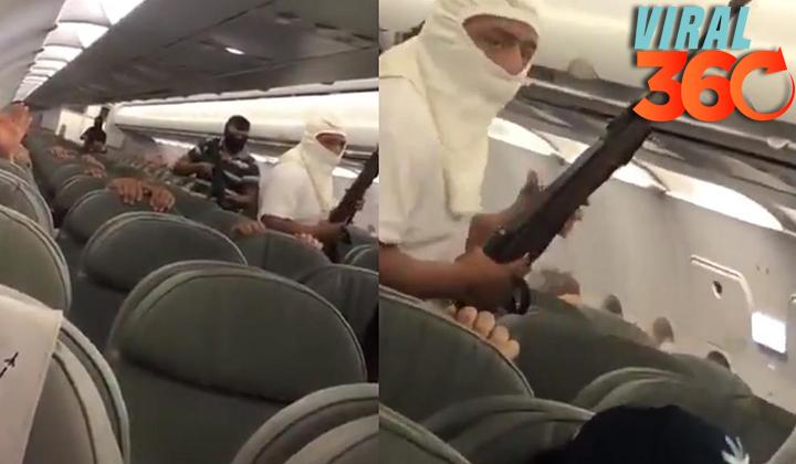 Video de 'secuestro' de avión de Interjet fue un simulacro