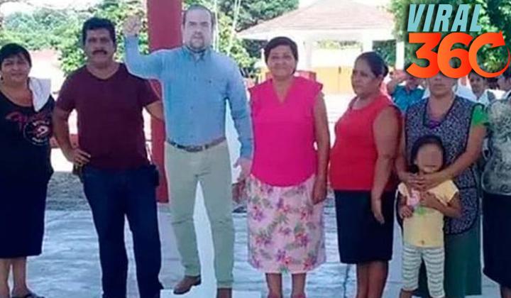 Alcalde de Chiapas utiliza foto para 'acudir' a los eventos