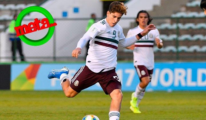 Gol de jugador del Santos es elegido el mejor del Mundial Sub-17