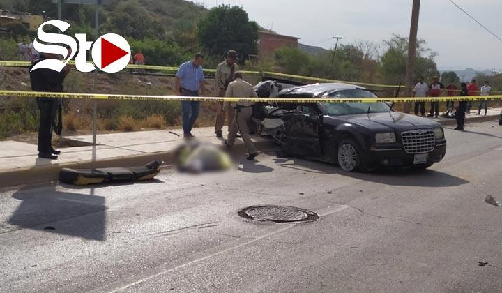 Hombre fallece en aparatoso accidente en Lerdo