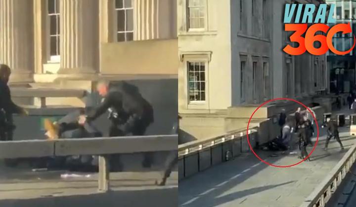 Difunden videos del tiroteo en el Puente de Londres