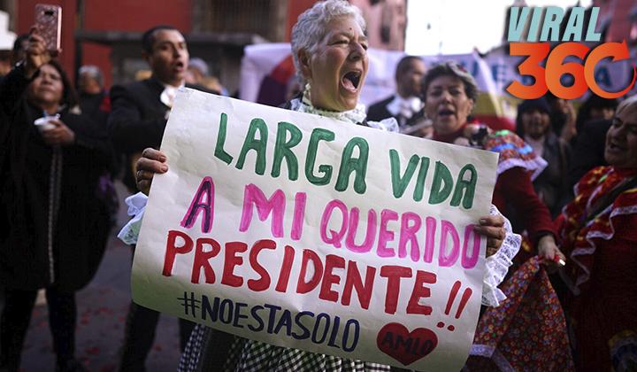 Internet felicita al presidente Obrador en su cumpleaños