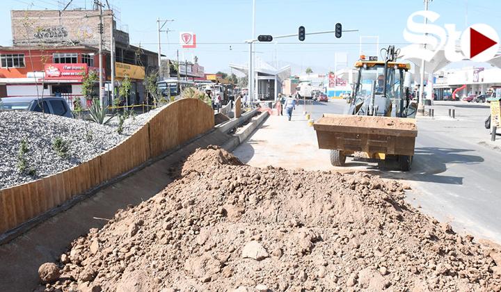 Descartan modificar cruce de Blanco y Revolución en Torreón
