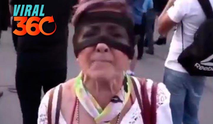 Anciana denuncia violación de taxista durante protesta