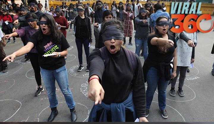 'El violador eres tú' llega a una India conmocionada