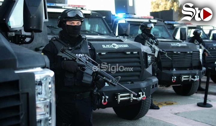 Entregan vehículos tácticos en Coahuila