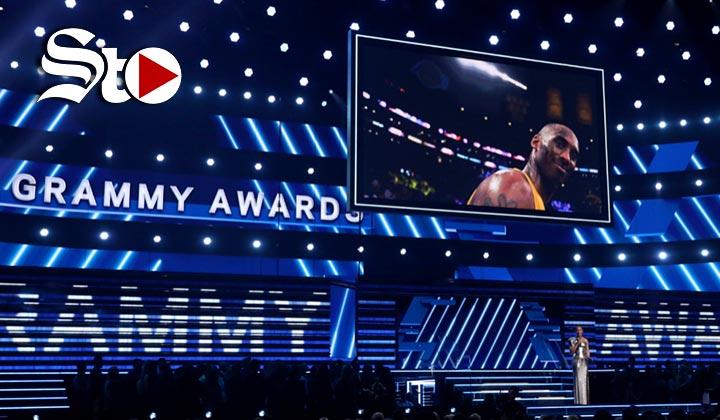 La pérdida de Kobe Bryant tiñe de luto los premios Grammy