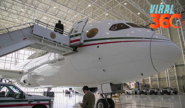 Avión presidencial regresará a México para exhibición