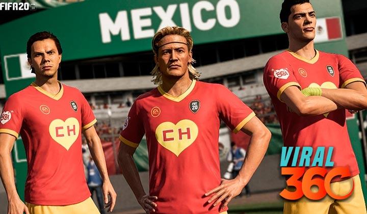 FIFA 20 crea uniforme del Chapulín Colorado
