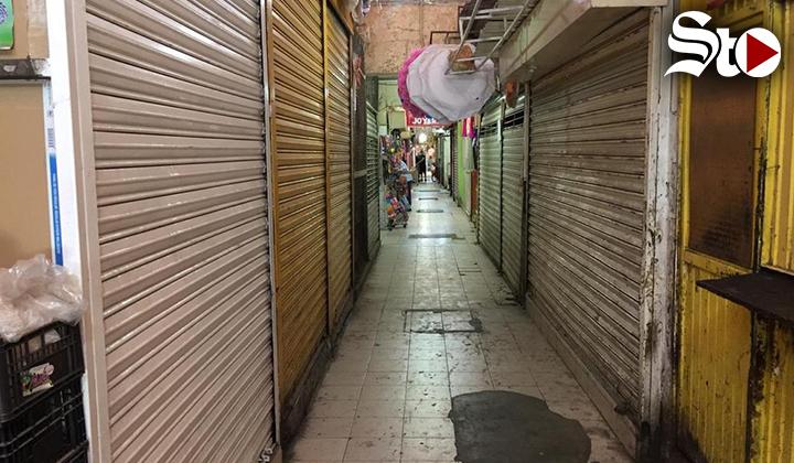 Cierran temporalmente 50 negocios del mercado José Ramón Valdez