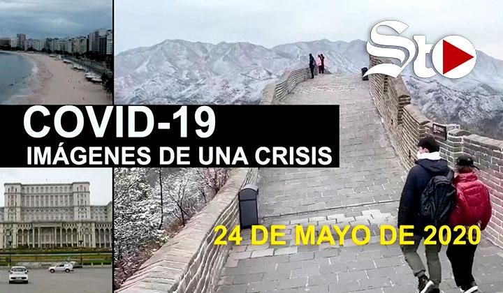 COVID-19 Imágenes de una crisis en el mundo: 24 de mayo
