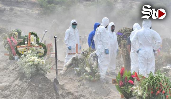El cementerio de Valle de Chalco en Mexico se queda sin fosas